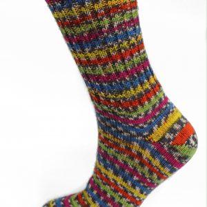 Ladies Fair Isle Socks - Sweet Shop