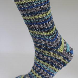 Ladies Fair Isle Socks