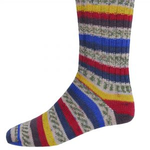 Mens Fair Isle Socks - Lagoon - Grange Craft Gift Store - These fairisle socks come in a variety of colours