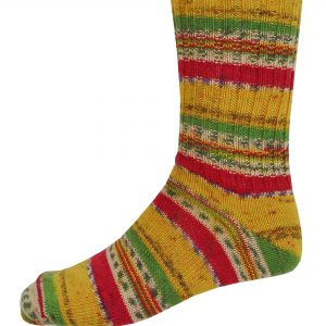 Mens Fair Isle Socks - Sunrise - Grange Craft Gift Shop