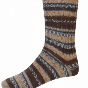 Mens Fair Isle Socks - Turf - Grange Craft Gift Shop